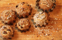 Homemade muffins Royalty Free Stock Photography