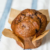 Homemade muffins in paper Royalty Free Stock Photo