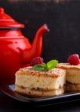 Homemade muffins with walnuts, cinnamon and sugar Stock Photo