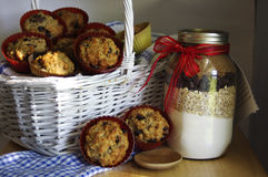 Homemade muffins Royalty Free Stock Images