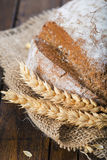 Homemade multigrain sourdough bread Royalty Free Stock Image