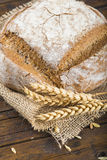 Homemade multigrain sourdough bread Royalty Free Stock Images