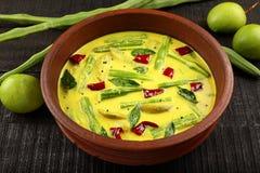 Homemade Muringakka Mango coconut  Curry Royalty Free Stock Images