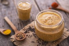 Free Homemade Mustard Stock Photos - 119406673