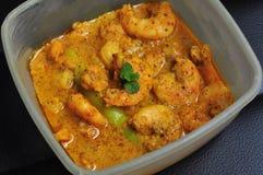 Homemade Mustard Prawn curry, Bengali dish Stock Images