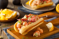 Homemade New England Lobster Roll Royalty Free Stock Image