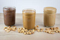 Homemade Nut Butters Stock Image