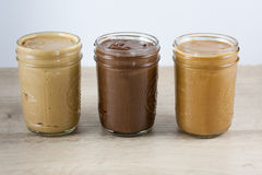 Homemade Nut Butters Royalty Free Stock Photo
