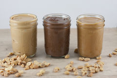Homemade Nut Butters Royalty Free Stock Photography