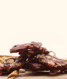 Homemade nut cookies Stock Photo