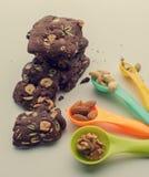 Homemade nut cookies Stock Image