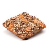 Homemade nut cookies Royalty Free Stock Photos