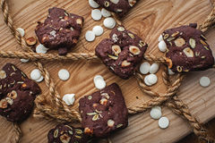 Homemade nut cookies Royalty Free Stock Image