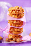Homemade nuts cookies Stock Photography