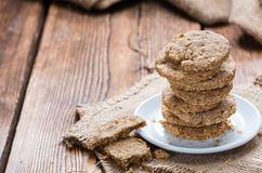 Homemade Oat Cookies Royalty Free Stock Photo