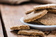 Homemade Oat Cookies Stock Images
