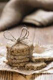Homemade Oat Cookies Stock Image