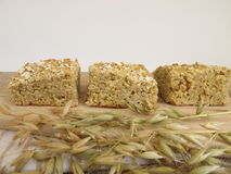 Homemade oatcake Stock Images