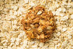 Homemade oatmeal cookie. Royalty Free Stock Photography