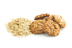 Homemade oatmeal cookies. Royalty Free Stock Image