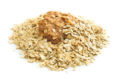 Homemade oatmeal cookies. Royalty Free Stock Photography