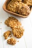Homemade oatmeal cookies. Royalty Free Stock Photo