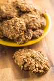 Homemade oatmeal cookies. Stock Image