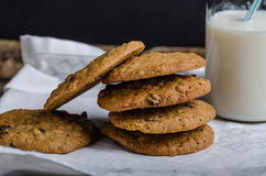Homemade Oatmeal Cream Pie Cookies Royalty Free Stock Image