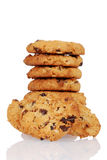 Homemade oatmeal raisin cookies Stock Images