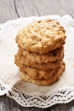 Homemade oats cookies Royalty Free Stock Photography