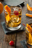 Homemade Old Fashioned Cocktail Stock Images