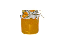Homemade orange marmalade Royalty Free Stock Image
