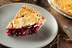 Homemade Organic Berry Pie Stock Images