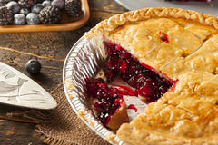 Homemade Organic Berry Pie Royalty Free Stock Image