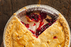 Homemade Organic Berry Pie Royalty Free Stock Photography