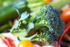 Homemade organic Broccoli Royalty Free Stock Images