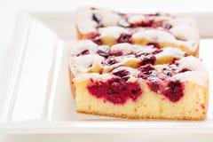 Homemade Organic Cherry Pie Stock Photo