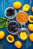 Homemade organic  jam Stock Photography