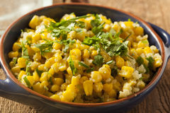Homemade Organic Mexican Corn Dish Stock Image