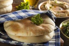 Homemade Organic Pita Bread Royalty Free Stock Photography