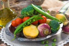 Homemade organic vegetables Royalty Free Stock Photo