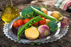 Homemade organic vegetables Stock Image