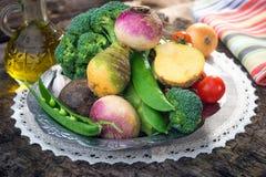 Homemade organic vegetables Royalty Free Stock Image