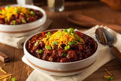 Homemade Organic Vegetarian Chili Royalty Free Stock Image