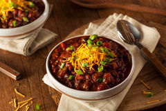 Homemade Organic Vegetarian Chili Stock Photos