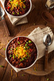 Homemade Organic Vegetarian Chili Royalty Free Stock Photo