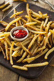 Homemade Oven Baked French Fries Stock Image