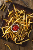 Homemade Oven Baked French Fries Royalty Free Stock Images