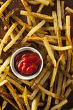 Homemade Oven Baked French Fries Royalty Free Stock Photos