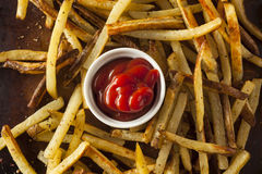 Homemade Oven Baked French Fries Royalty Free Stock Image